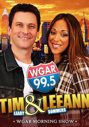 Tim & Leeann WGAR Morning Show Promotional Piece, Published Photography © Amy Weiser, Photographer