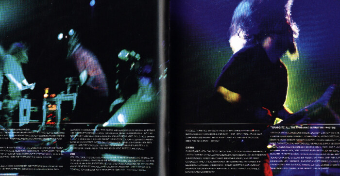 Deftones b Sides and Rarities, CD Booklet, Published Photography © Amy Weiser, Photographer