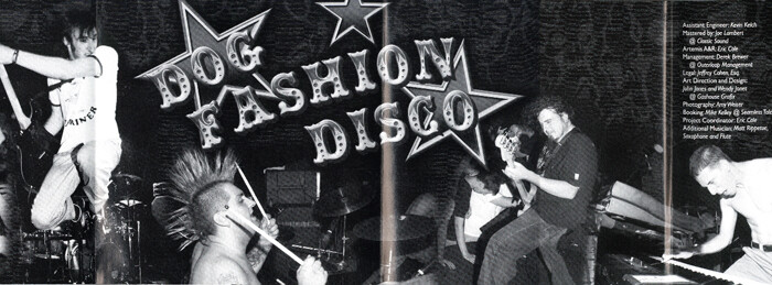 DFD Dog Fashion Disco CD Booklet, Published Photography © Amy Weiser, Photographer