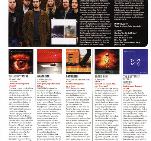 Haste in Metal Hammer Magazine, Published Photography © Amy Weiser, Photographer