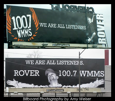WMMS Rover's Morning Glory Billboards, Published Photography © Amy Weiser, Photographer