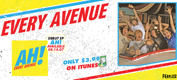 Every Avenue Promotional Piece for Fearless Records, Published Photography © Amy Weiser, Photographer