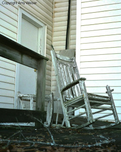 Abandoned Rocking Chair Copyright Amy Weiser