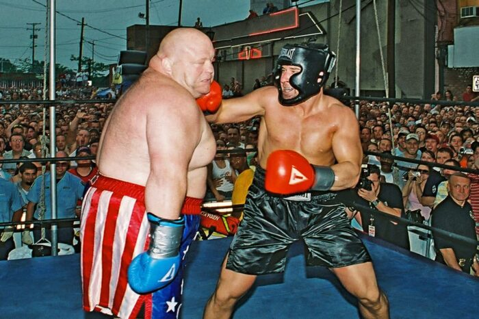 Dieter Versus Butterbean Boxing Match at Rover's Morning Glory, Event Photography © Amy Weiser, Photographer