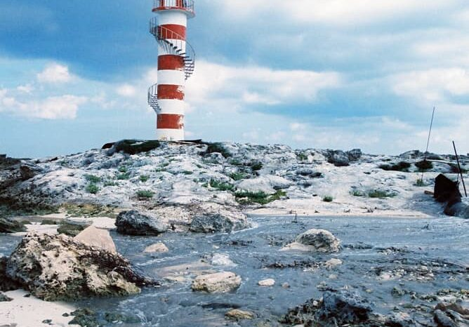 Cancun, Mexico Lighthouse, Travel Photography © Amy Weiser, Photographer
