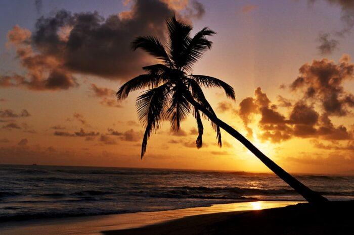 Punta Cana, Dominican Republic Sunrise Landscape, Travel Photography © Amy Weiser, Photographer