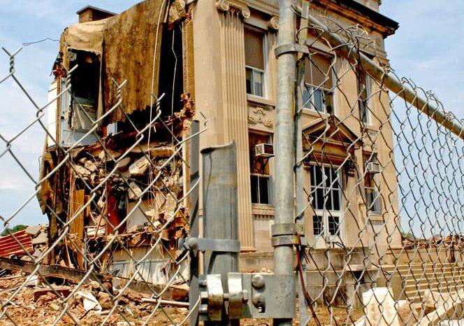 Demolished School in Lakewood, OH © Amy Weiser, Photographer