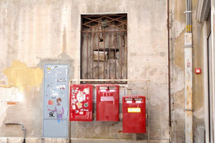 Old Postal Mail Boxes in Venice Italy© Amy Weiser, Photographer