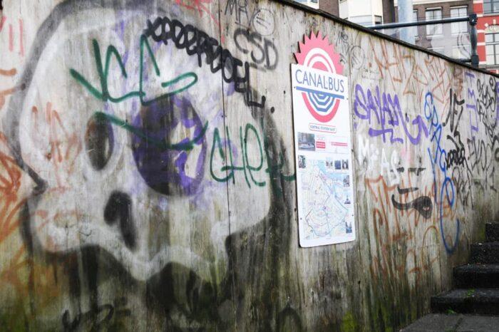 Street Art, Graffiti in Amsterdam, Netherlands © Amy Weiser, Photographer