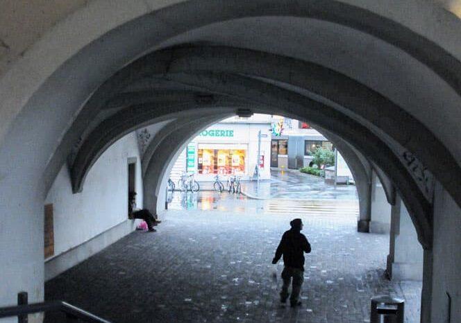 Walkway in Lucerne, Switzerland © Amy Weiser, Photographer