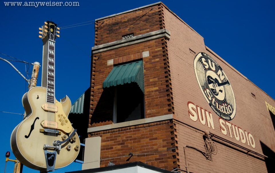 The Legendary Sun Studio in Memphis, Tennessee, Travel Photography © Amy Weiser, Photographer