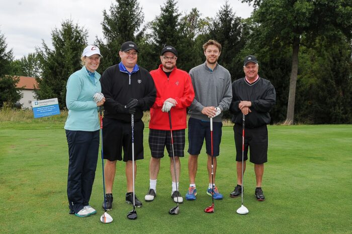 Cleveland Cavaliers Charity Golf Outing with Matthew Dellavedova and Sponsors, Event Photography © Amy Weiser, Photographer