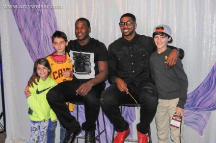 Cleveland Cavaliers Dion Waiters & Tristan Thompson 2014 © Amy Weiser, Photographer