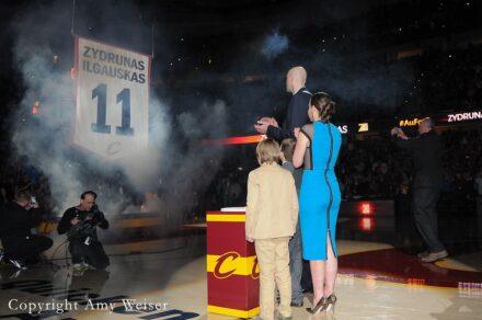 Cleveland Cavaliers Zydrunas Ilgauskas 2014 © Amy Weiser, Photographer