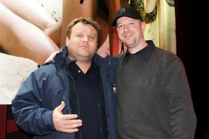 Rover and Comedian Frank Caliendo at the Calendar Release Party for Rover's Morning Glory and WMMS Cleveland, Event Photography © Amy Weiser, Photographer