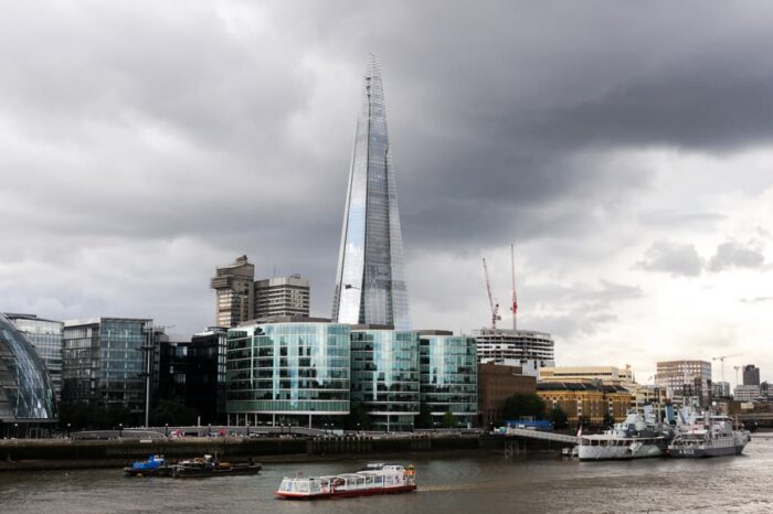 The Shard in London, England UK, Travel Photography © Amy Weiser, Photographer