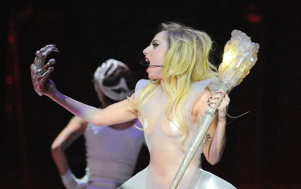 Lady Gaga in Concert at Rocket Mortgage Fieldhouse (Quicken Loans Arena), Concert Photography © Amy Weiser, Photographer