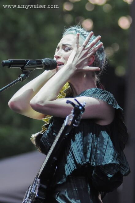 St. Vincent at Pitchfork Music Festival 2014 © Amy Weiser, Photographer