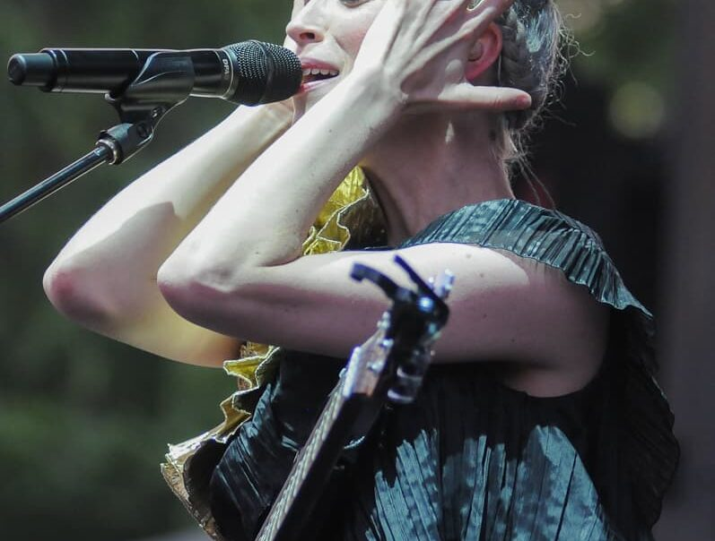 St. Vincent at Pitchfork Music Festival 2014 © Amy Weiser, Photographer