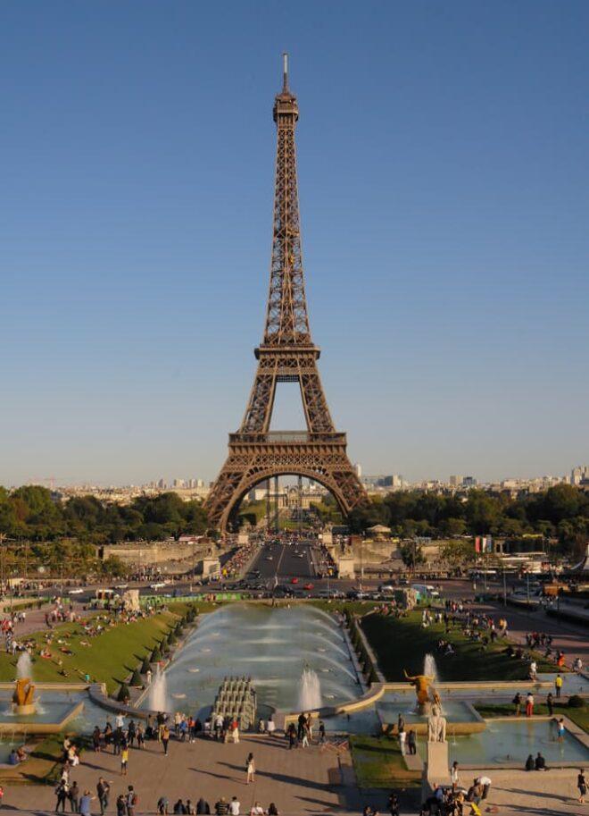 Eiffel Tower in Paris, France, Landmark Travel Photography © Amy Weiser, Photographer