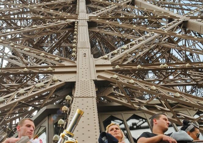 The Eiffel Tower in Paris, France, Travel Photography Architecture © Amy Weiser, Photographer