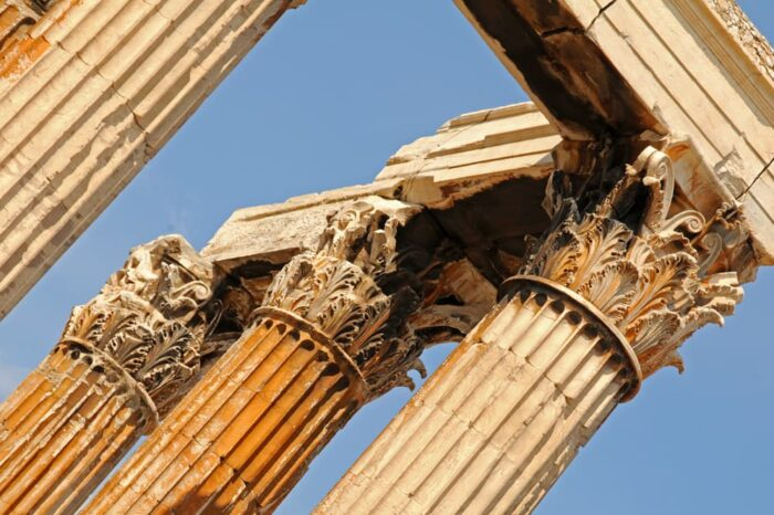 Temple of Olympian Zeus, Athens, Greece, Travel Photography Architecture © Amy Weiser, Photographer