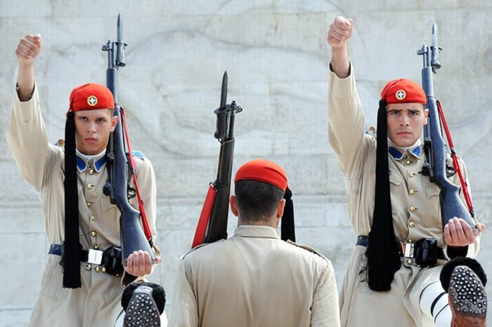 Tomb of the Unknown Soldier in Athens, Greece Travel Photography © Amy Weiser, Photographer