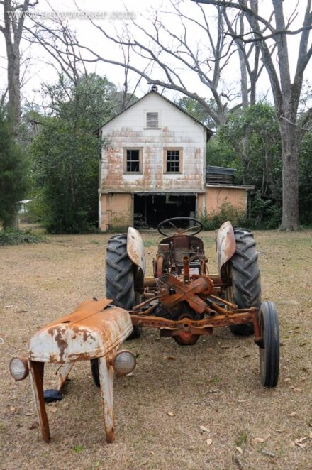 Rusted Ford Tractor © Amy Weiser, Photographer