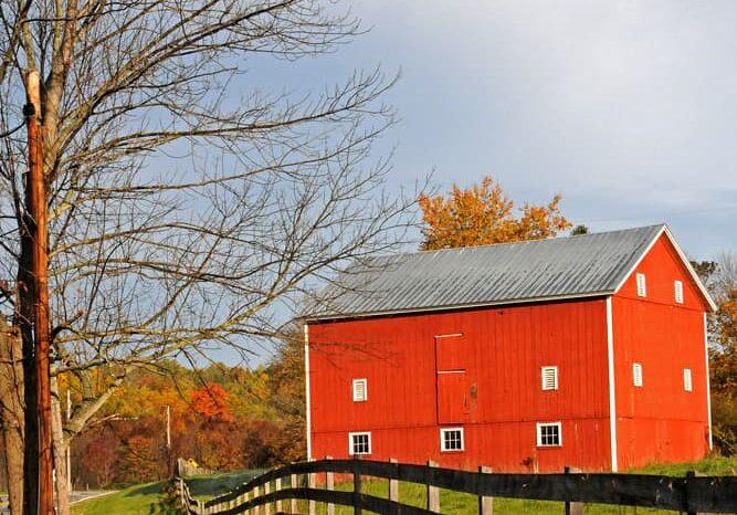 Red Barn Cuyahoga Valley, Ohio © Amy Weiser, Photographer