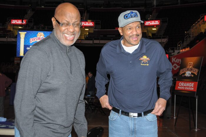 Cleveland Cavaliers VIP Event with Campy Russell and Larry Nance, Event Photography © Amy Weiser, Photographer