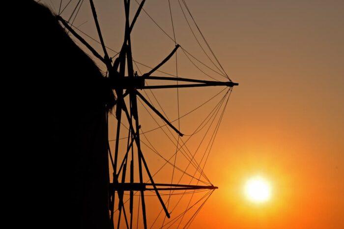 Windmills in Mykonos, Greece, Travel Photography © Amy Weiser, Photographer
