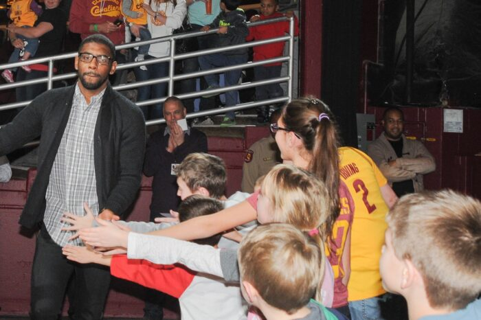 Cleveland Cavaliers VIP Event with Kyrie Irving, Event Photography © Amy Weiser, Photographer