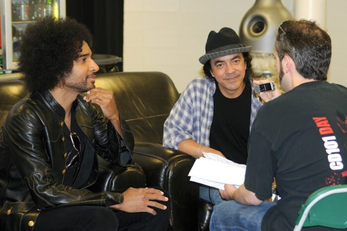 Backstage Interview with Mike Inez and William DuVall of Alice in Chains, Event Photography © Amy Weiser, Photographer