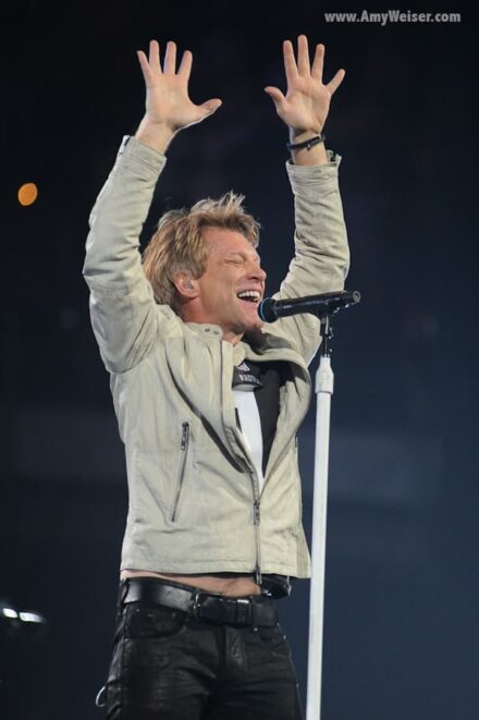Bon Jovi in Concert at Rocket Mortgage Fieldhouse (Quicken Loans Arena), Concert Photography 2013 © Amy Weiser, Photographer