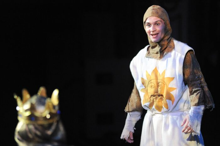 Spamalot at Playhouse Square Dazzle Award Ceremony, Live Theater Photography © Amy Weiser, Photographer
