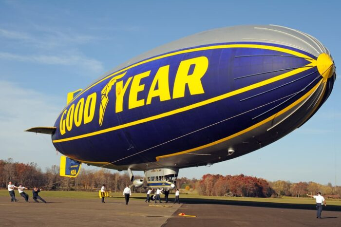 Goodyear Blimp Commercial Photography © Amy Weiser, Photographer