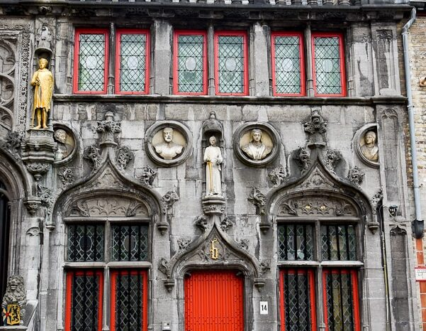 The Basilica of the Holy Blood in Bruges, Belgium, Landmark, Travel Photography © Amy Weiser, Photographer