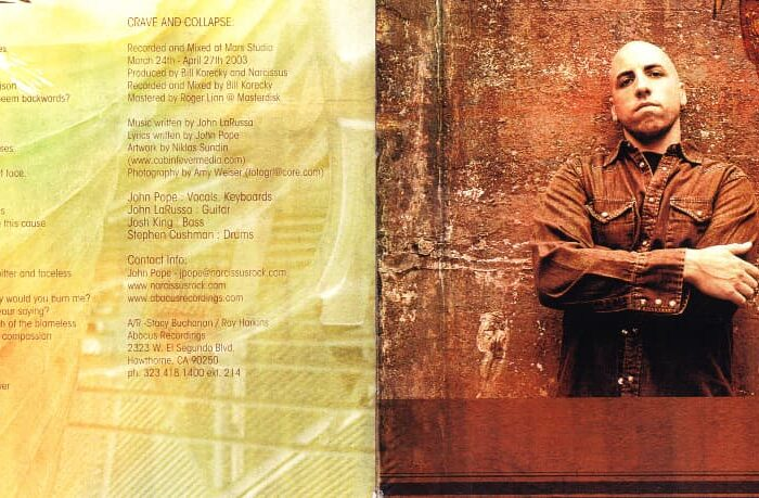 Narcissus CD Booklet, Published Photography © Amy Weiser, Photographer