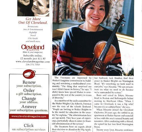 Cleveland Magazine, Published Photography © Amy Weiser, Photographer