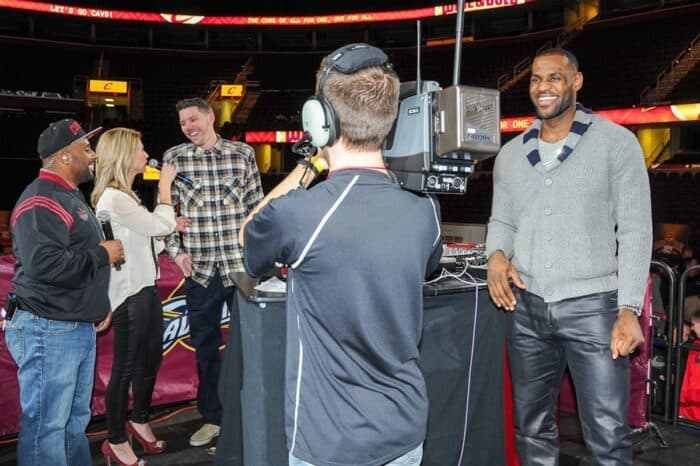 Cleveland Cavaliers VIP Event with Lebron James and Mike Miller, Event Photography © Amy Weiser, Photographer