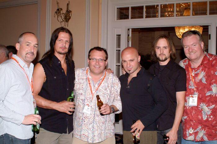 Warner Brothers Records Disturbed VIP Meet & Greet © Amy Weiser, Photographer