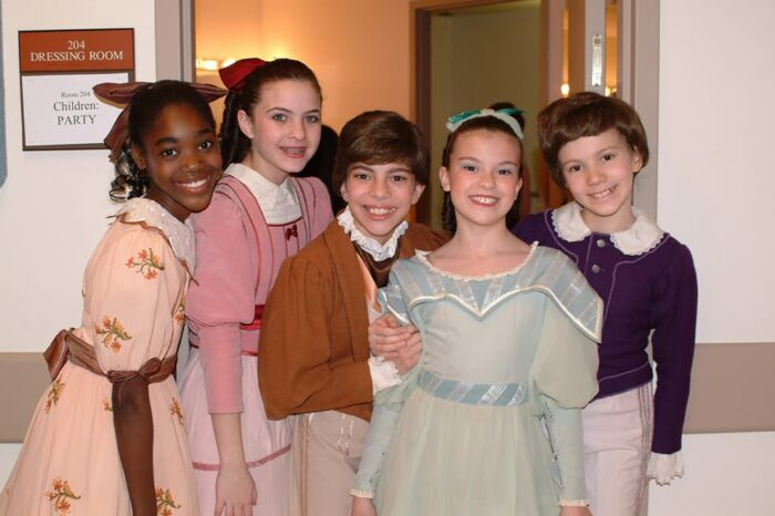 Playhouse Square Event Young Performers Backstage, Event Photography © Amy Weiser, Photographer