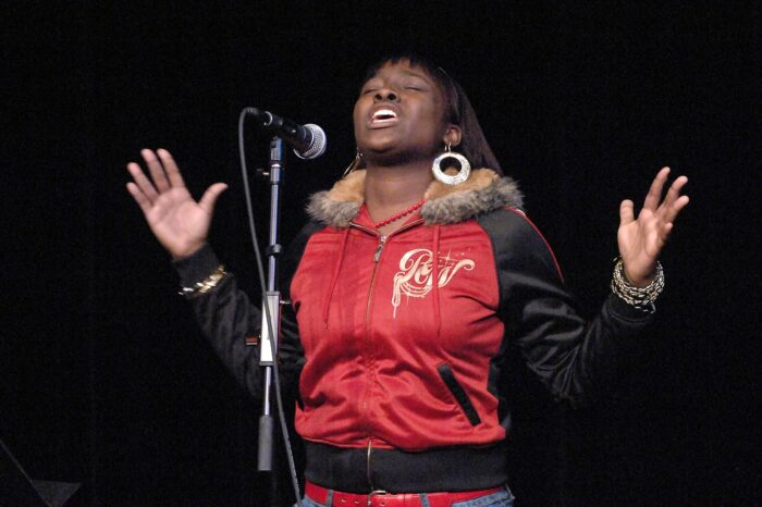 Slam U Poetry Slam at Playhouse Square © Amy Weiser, Photographer