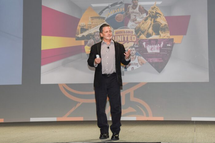 Dan Gilbert of the Cleveland Cavaliers at a VIP Event, Event Photography © Amy Weiser, Photographer