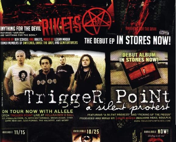 Trigger Point, Published Photography in Decibel Magazine © Amy Weiser, Photographer