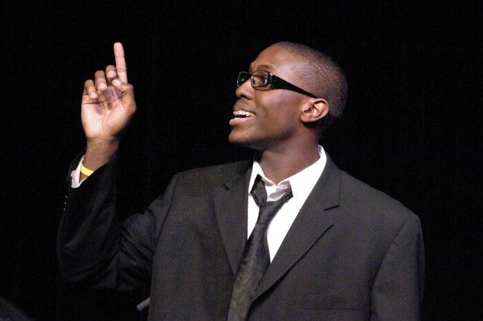 Slam U Poetry Slam at Playhouse Square © Amy Weiser, Photographer
