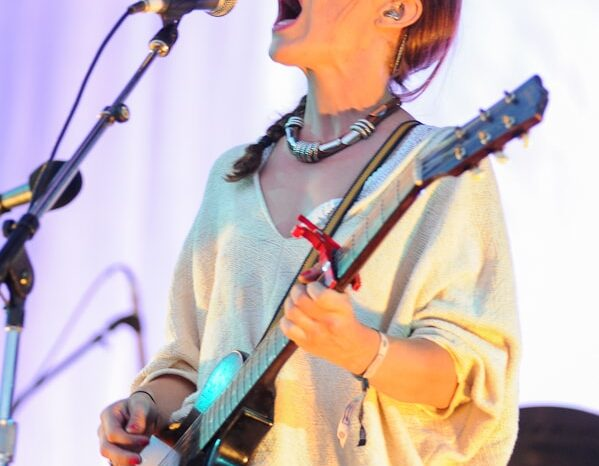 Feist Live in Concert at Pitchfork Music Festival 2014 © Amy Weiser, Photographer
