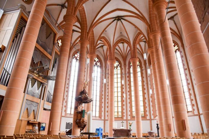Church of the Holy Spirit, Architecture, Heidelberg, Germany, Travel Photography © Amy Weiser, Photographer