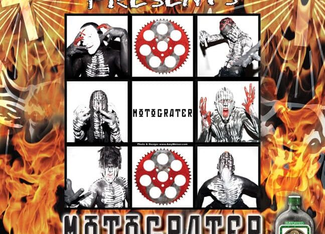 Motograter Jagermeister Promo Poster, Published Photography © Amy Weiser, Photographer