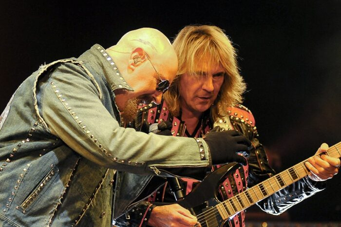 Judas Priest Live in Concert at The Time Warner Cable Amphitheater at Tower City (Tower City Amphitheater) © Amy Weiser, Photographer